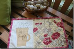Happy in Quilting.. using blocks from Anni Downs quilt pattern