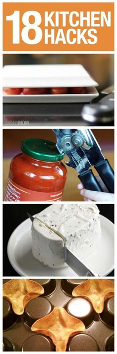 Try some of these kitchen tricks.