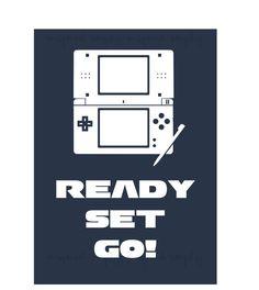 Printable Nintendo DS Wall Art