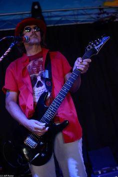 Steve Rocking The Guitar