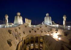 La Pedrera | Gaudí #architecture #modernism