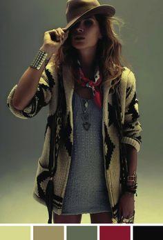"estilo-boho ""amazing look"" #minhacara"