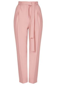 Photo 1 of Belted Crepe Peg Pants