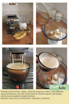 Przepis na bananową kawę...