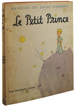 le petit prince by Antoine de Saint Exupery    read this in one of my high school french courses. such a cute book.