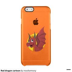 Red dragon cartoon uncommon clearly™ deflector iPhone 6 case