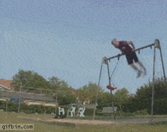 Urban gymnastics? Nailed it.