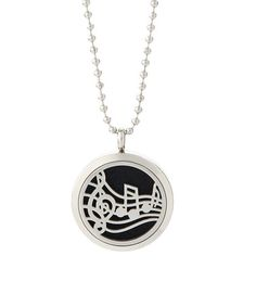 This Silvertone Music Perfume & Diffuser Oil Pendant Necklace is perfect! #zulilyfinds