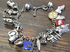7b6dc4ba0c6c2 20 Best Old sterling silver charm bracelets images in 2015 ...