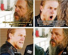 One of my favourite scenes from season 5 #SoA. <3