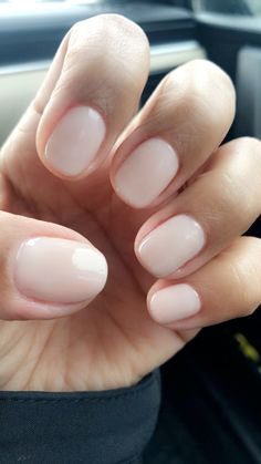 Natural nails~Opi Gel Polish Funny Bunny - #nails #stiletto #stilettonails #nail