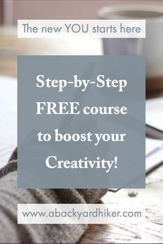 Anybody can benefit from this free course. Whether you are stuck with a project at work, you want to be more creative with your daily planning or you need some inspiration for your next painting. I'll guarantee you that your creativity will be flowing if you follow these simple steps. #lifecoaching #creativity #walkingcoaching Christian Life Coaching, Free Courses, New You, First Step, Nervous System, Daily Planning, How To Get, Motivation, Feelings