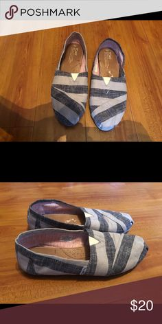 Toms Wore them once. Cleaning out closet so getting rid of a few items. Loafer Flats, Loafers, Cleaning Out Closet, Rid, Toms, Shop My, Best Deals, Sneakers, Womens Fashion