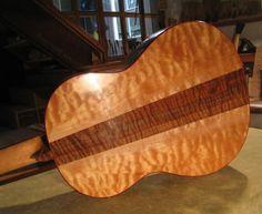 Custom Tsiorba Maple Custom Tsiorba Maple Spanish Guitar
