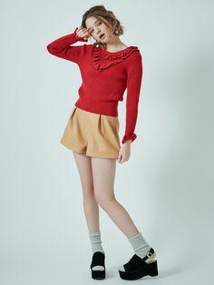 ダズリン|dazzlin公式ファッション通販|ランウェイチャンネルのボトムス(ショートパンツ)【sw】ハイウエストショートパンツならRUNWAY channel(ランウェイチャンネル)。ダズリン|dazzlin公式ファッション通販|ランウェイチャンネルの新作からセールまで公式通販サイトならではの豊富な在庫!雑誌掲載や有名人着用商品も多数!