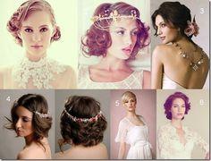 Short Bridal Hairstyles!