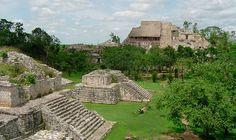 Majestuosa zona dormida en Ek Balam, Yucatán