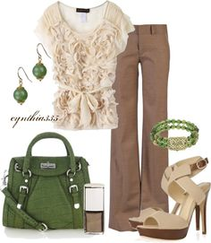 """Accessorize with Green"" by cynthia335 on Polyvore"
