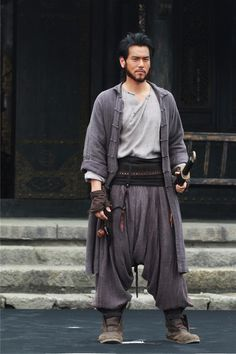 "The 36th Blogger of Shaolin.  Eddie Peng in ""Call of Heroes""."