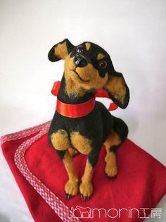 ●犬 morin工房ー羊毛フェルト人形作家