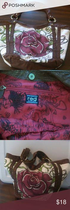 Red by Marc Ecko Shoulder Bag Roomy shoulder bag. Beautiful design. Was loved lots!!! Red by Marc Ecko Bags Shoulder Bags