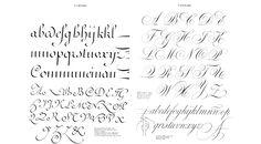 Ces images sont issus du livre de Claude Médiavilla Calligraphie Editions de l'Imprimerie Nationale 1993.