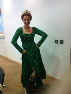 Carley Stenson - Princess Fiona before heading off to West End Live