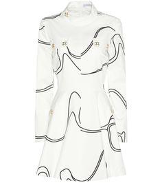 mytheresa.com - Skater printed cotton dress - Luxury Fashion for Women / Designer clothing, shoes, bags