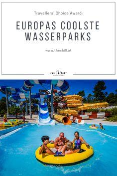 Das sind die 5 beliebtesten Wasserparks Europas - The Chill Report Chill, Traveling, Europe, Traveling With Children, Summer, Viajes, Trips, Travel