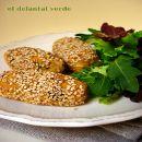Croquetas de garbanzo, calabaza y sésamo | #Recetas de cocina | #Veganas - Vegetarianas ecoagricultor.com