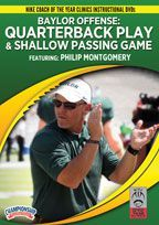 Baylor Offense: Quarterback Play & Shallow Passing Game - Football -- Championship Productions, Inc. Football Training Drills, Explosive Workouts, Coach Of The Year, Instant Video, Shallow, Handsome Boys, Coaching, Baseball Cards, Games