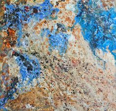 "Saatchi Art Artist Chantal Barlow; Painting, ""World Map (Sold)"" #art #paintings #texture #organic #earth #originalart #fineart #abstractart #contemporaryart #artonwood"
