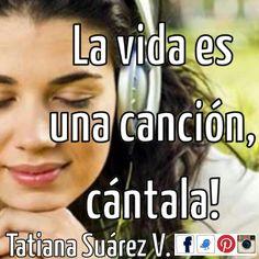 Llenando mi día de música para colmar de alegrías la vida!!  #Música #Medellín #TatianaSuárezV