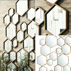 Vi har de vakre Hexagon speilene fra @trendcollection.no på lager nå. Kr 5995- måler 181 x 30 cm (kan henges begge veier). #lykkeligpaahaver #lykkeligpåhaver #hexagon #speil #mirror #trendcollection #nisjebutikk #pålager #design #påveggen # by lykkeligpaahaver
