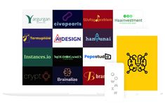 DesignwithAI- We let machine learning design logos Genetic Algorithm, Artificial Intelligence Algorithms, Machine Learning Models, Logo Process, Premium Logo, Use Case, Logo Maker, Logo Color, Social Media Design