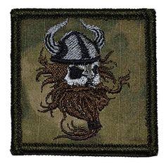 Viking Head Bezerker 2x2 Military Patch / Morale Patch - ATACS FG, http://www.amazon.com/dp/B00LABLY2G/ref=cm_sw_r_pi_awdm_Xg7Iub03939KM