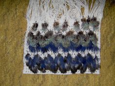 Robin Weaves Korowai: August 2012 Maori Designs, Paua Shell, Back To Black, Tie Dye Skirt, Robin, Projects To Try, Weaving, Baby Boy, Feathers