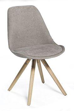 Konferenzstuhl ikea  Beaver #Stuhl #Bolia 223€, Stoff + Eiche, B.41 x T.42 x H.82 cm ...