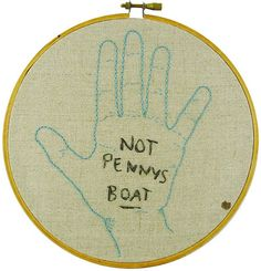Not Penny's Boat | LOST cross stitch art For reals, I'm going to make this...