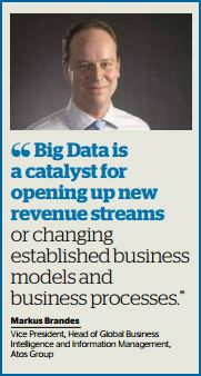 Atos - BigData as a Catalyst for New Revenue Streams - Markus Brandes Annual Reports, Vice President, Open Up, Presidents, News, Business, Store, Business Illustration