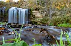 4 Wisconsin Waterfalls to Start Your Weekend Adventure - Vacation Kayaking Near Me, Camping Near Me, Camping Cabins, Canoeing, Wisconsin State Parks, Wisconsin Vacation, Wisconsin Getaways, Wisconsin River, Wisconsin Waterfalls