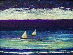 'Sail Again' needle felting