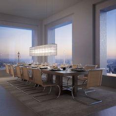 O prédio residencial mais alto do Ocidente. 96 andares de luxo absoluto em NY