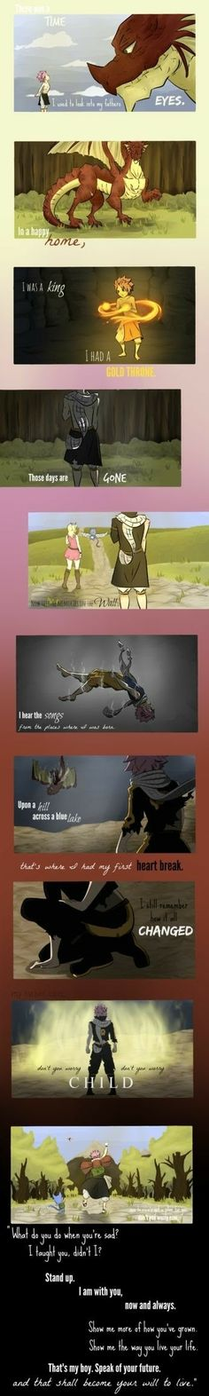 Song: Don't you worry child Anime: Fairy Tail Fairy Tail Sad, Fairy Tail Meme, Fairy Tail Quotes, Image Fairy Tail, Fairy Tail Comics, Natsu Fairy Tail, Fairy Tail Family, Fairy Tail Couples, Fairy Tail Ships