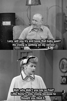 """17 Times """"I Love Lucy"""" Captured The Struggle Under Patriarchy My kinda woman! Sassy and sarcastic. That's why I love Lucy Quote Movie, Love Quotes Movies, Tv Quotes, Funny Quotes, Life Quotes, Funny Memes, I Love Lucy, Lucy Lucy, Hilarious Pictures"""