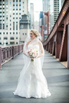 Lush Lavender Chicago Wedding at the History Museum from Cristina G Photography - bride and groom