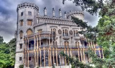 Monday's Gloomy Day Daily Jigsaw Puzzle – Hungarian Castle