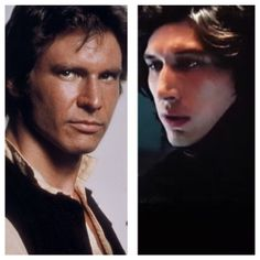 There are only certain angles by which these two look like father and son, the rest make Ben look like Anakin.