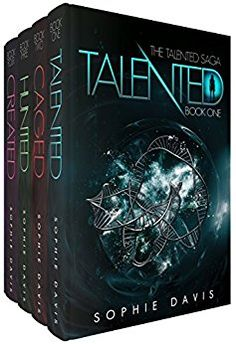 The Talented Saga (Books 1-4): Talented, Caged, Hunted, Captivated and Created by [Davis, Sophie]