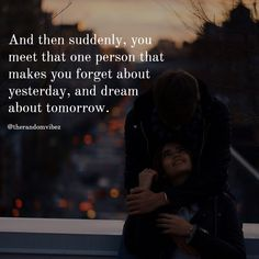 When a person is helping you to get out of your past and making you dream for your future then he/she is true and special one. Don't lose them be with them and give your effort too to make them happy. Real Life Love Quotes, Strong Love Quotes, Lovers Quotes, Soul Quotes, Caring Quotes For Friends, Take Care Quotes, Someone Special Quotes, Best Friendship Quotes, Inspirational Quotes Pictures